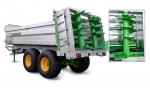 Разбрасыватели навоза с вертикальными барабанами FERTI-CAP